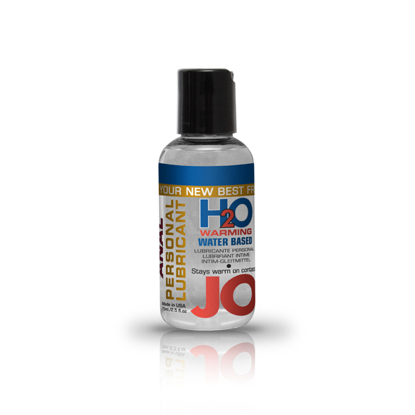 System Jo - System JO - Anal H2O Lubricante Calentamiento 75 ml