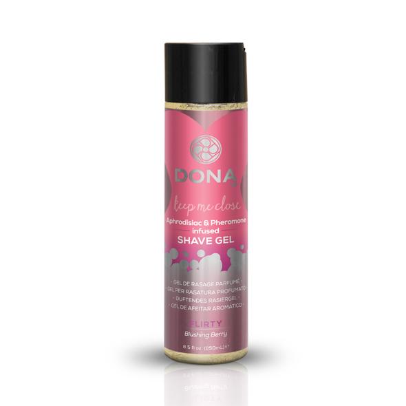 System Jo - Dona - Shave Gel de ruborización Berry 250 ml