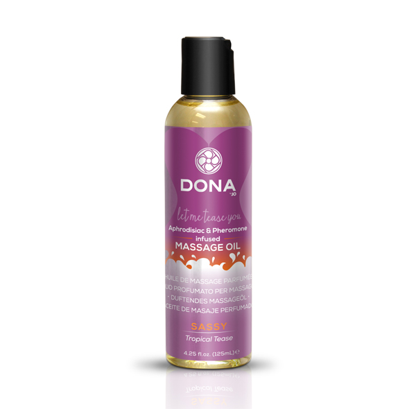 System Jo - Dona - Aceite de masaje perfumado tropicales Tease 125 ml