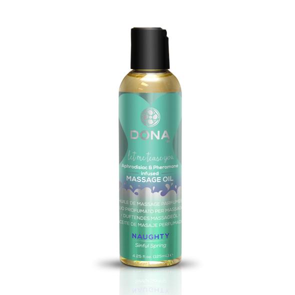System Jo - Dona - Aceite de masaje perfumado primavera Sinful 125 ml