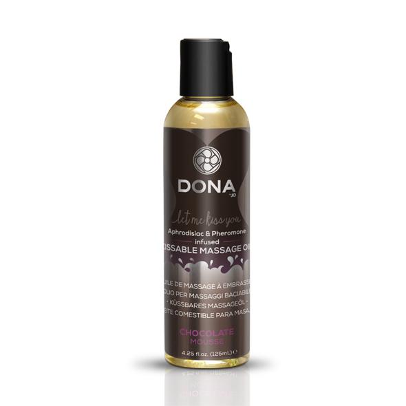 System Jo - Dona - Kissable Aceite de masaje mousse de chocolate 125 m