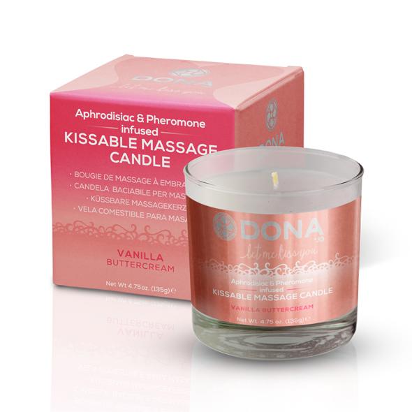 System Jo - Dona - Kissable Massage Candle vainilla crema de mantequilla
