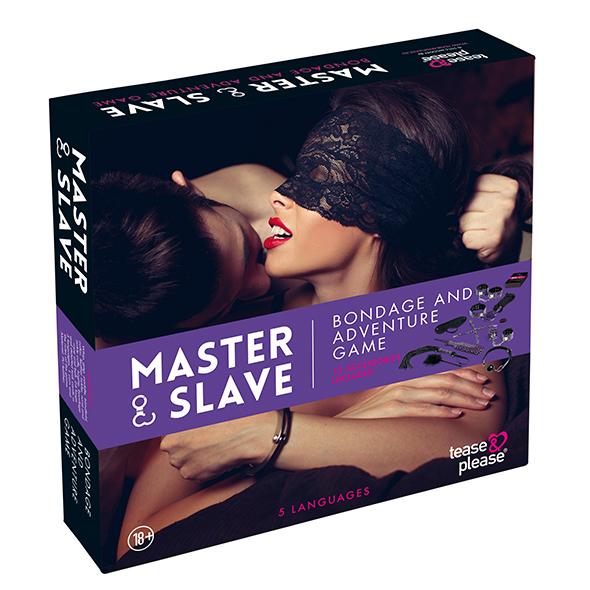 Tease & Please Master & Slave - Bondage - Juego Violeta