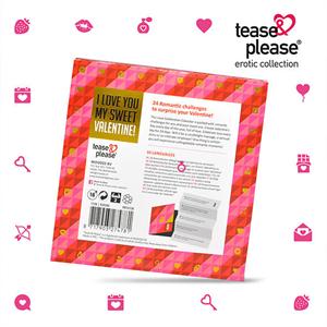 Tease & Please Valentine Advent Calendar (nl-de-en-fr-es-it-pl-ru-se-no)