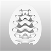 Tenga - Tenga Egg Pack 6 Wavy Easy Ona-cap