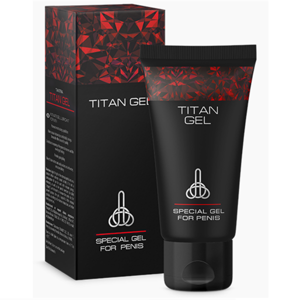 Titan Gel - Lubricante Potenciador