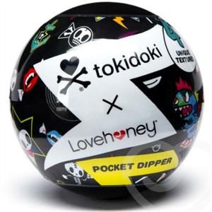 Tokidoki Mini Masturbador Masculino Con Texturas Logo Tokidoki