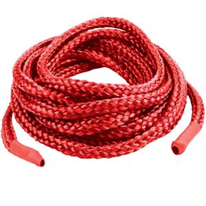Topco Sales Topco Cuerda Japonea Rojo 5 M Con Libro Bondage
