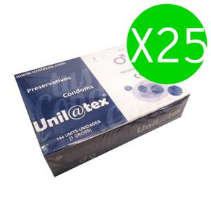 Unilatex Preservativos  Naturales 144 Uds X 25 Uds