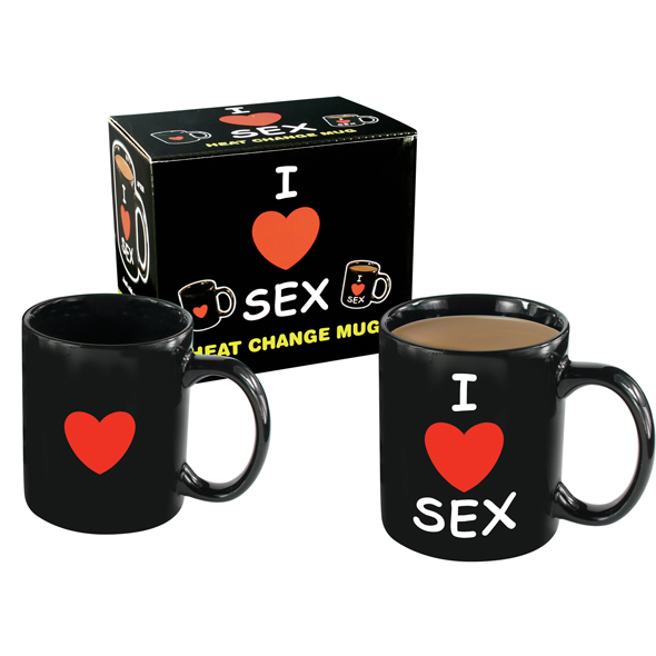 "Taza Mágica ""I Love Sex"""