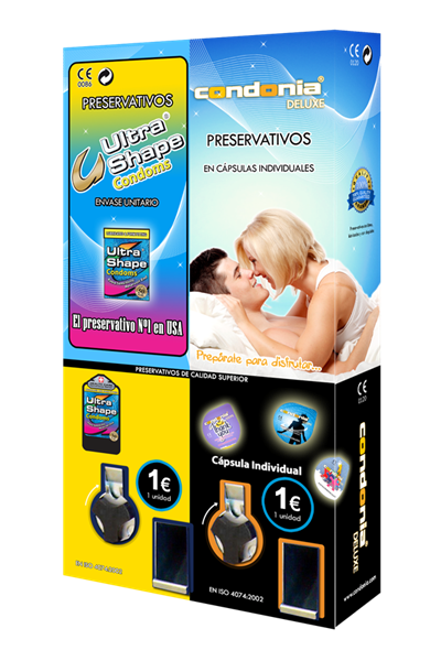 Máquina Vending 2 Canales - UltraShape & Condonia