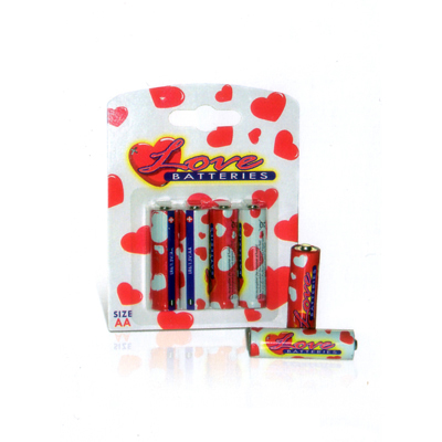Love Batteries - Pilas AA (Grandes)