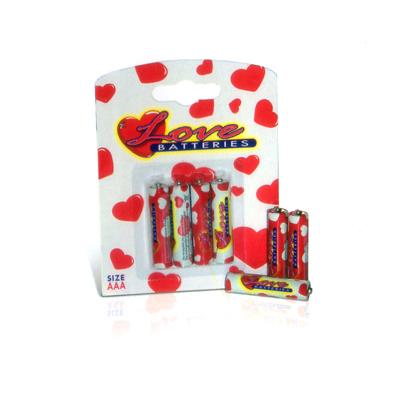 Varios - Love Batteries - Pilas AAA (Pequeñas)