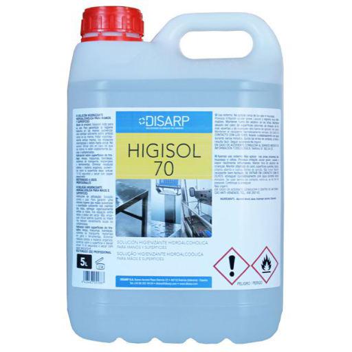 Varios - Gel Hidroalcohólico Higisol 70 (5 litros)