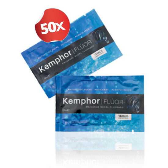 Kemphor Enjuague Bucal (50 Monodosis)