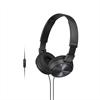 Sony auriculares estéreo Plegablescon MDR-ZX310AP con micrófono negro
