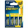 Varta Energy Pila Alcalina Aa Lr6 Blister*4