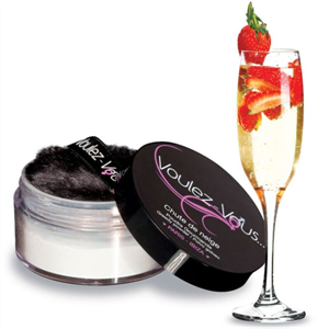 Voulez-vous... Voulez-vous Polvos Comestibles Sabor Fresas Con Champagne 25 Gr
