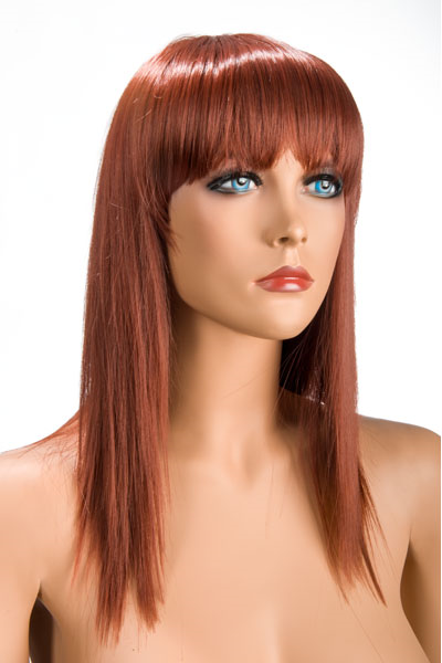 World Wigs - Peluca Allison Pelirroja Color #130