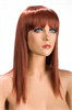 World Wigs Peluca Allison Pelirroja Color #130