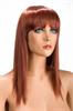 World Wigs Peluca Allison Pelirroja Color #130
