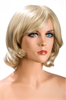 World Wigs Peluca Victoria Rubia Color #22