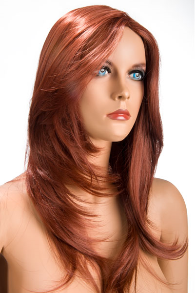 World Wigs - Peluca Olivia Pelirroja Color #130