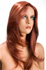 World Wigs Peluca Olivia Pelirroja Color #130