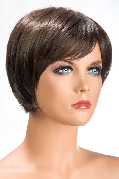 World Wigs - Peluca Daisy Castaña Color #6
