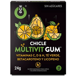 Wug Chicle Multivit Gum 10uds