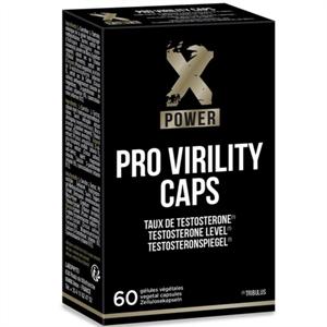 Xpower Pro Virility Capsulas Vitalidad Y Virilidad 60 Unidades
