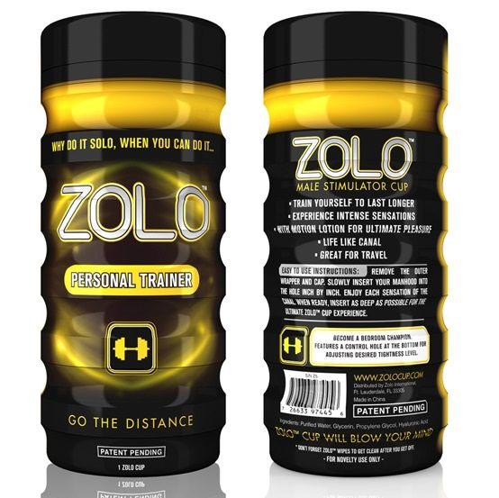 Zolo - Zolo Cup Masturbador Entrenador Personal