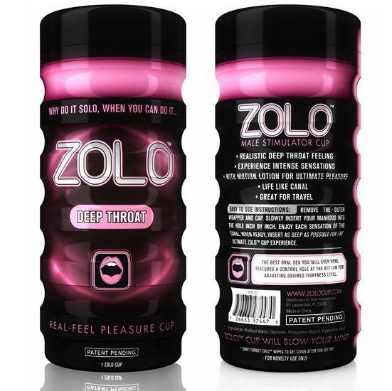 Zolo - Zolo Cup Masturbador Garganta Profunda