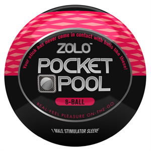 Zolo Pocket Bola Masturbador 8 Ball