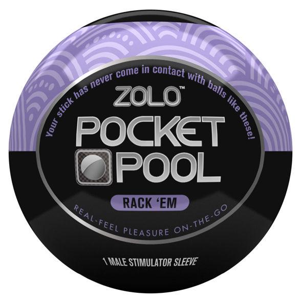 Zolo - Zolo Pocket Bola Masturbador  Rack 'em