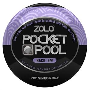 Zolo Pocket Bola Masturbador  Rack